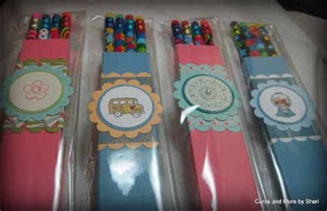 Kerry Paper Crafts - cards and more by sheri pencil holders back to school gift
