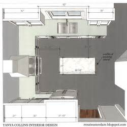 U Shaped Kitchen Floor Plans Renaissance Daze Kitchen Renovation Updating A U Shaped Layout