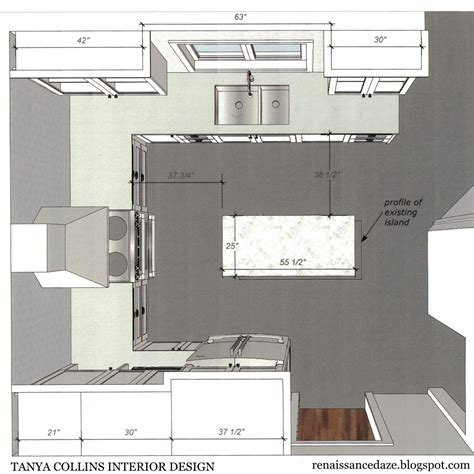 kitchen floor plans with islands renaissance daze kitchen renovation updating a u shaped