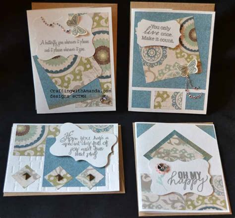 crafting with amanda 187 more scrap cards - I Found A Gift Card And Used It