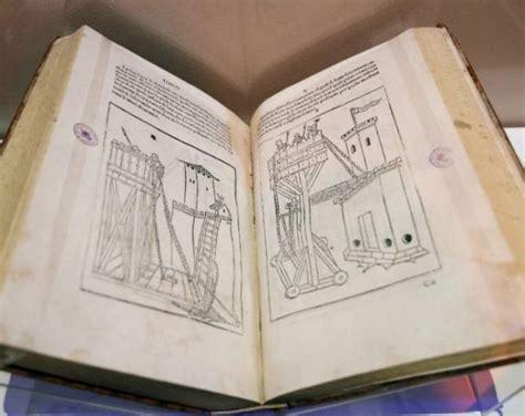 libro leonardo los dos libros de notas de leonardo da vinci se exhiben en la biblioteca nacional