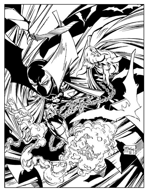 spawn coloring book 02 daily dead
