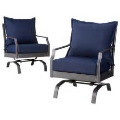 target patio chairs 2 metal patio motion club chair set target