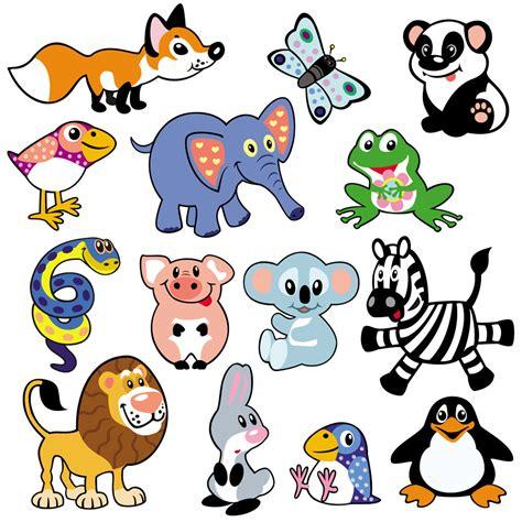 imagenes animales salvajes infantiles 矢量卡通动物模板下载 图片编号 20140325041158 陆地动物 生物世界 矢量素材 聚图网 juimg com