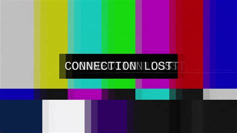 color connection smpte color bars tv connection lost distorted tv