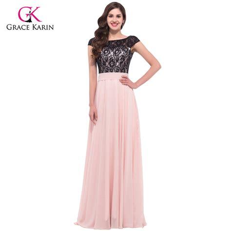 September Sleeve Dress By Grace by Aliexpress Buy Pink Black Lace Evening