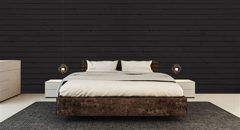 black shiplap wall  painting  black accent