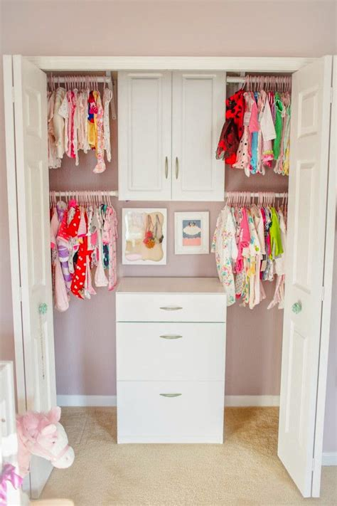 how to organize nursery closet organizing the baby s closet easy ideas tips