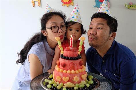 Berkwalitas Diy Birthday Cake Besar Kue Ultah Potong Tiup Lilin Nyal kue ulang tahun sehat the