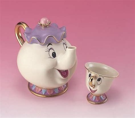 beauty and the beast pot disney beauty and the beast tea pot cup tea set mrs pot