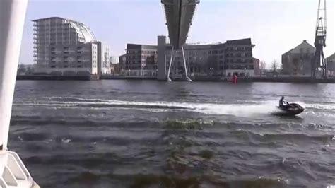 River Thames Jet Ski | river thames jet ski exhibition royal victoria dock youtube