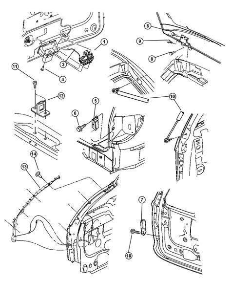 security system 1993 dodge dakota spare parts catalogs chrysler town country liftgate parts diagram chrysler auto wiring diagram
