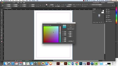 how to add color how to add a color background to your indesign project