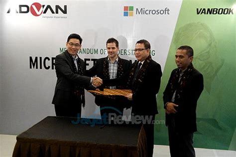 Advan Microsoft advan microsoft tanda tangani mou jagat review
