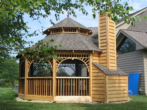 backyard gazebo kits gazebo kits fireplace amazing gazebo for small backyard