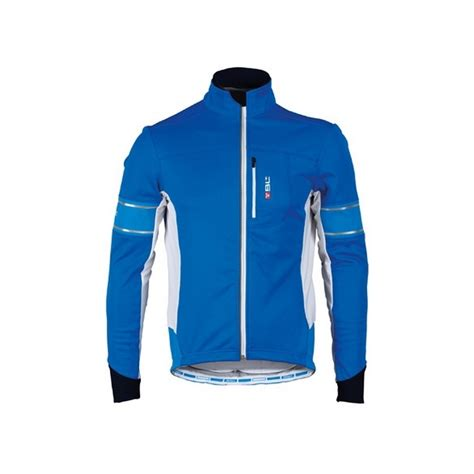 winter bicycle jacket bicycleline winter jacket lode blue δαλαβίκας bikes