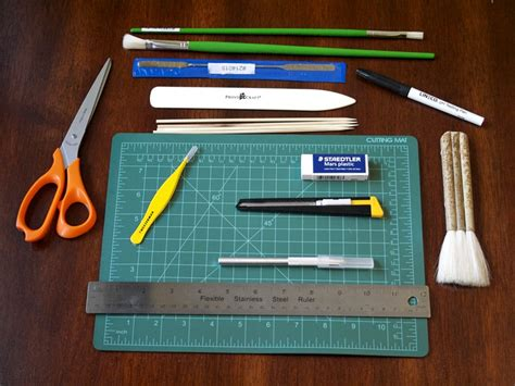 Paper Tools - learning about paper repair binding obsession