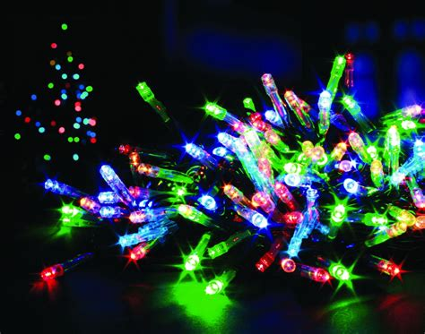 100 led connectable christmas lights
