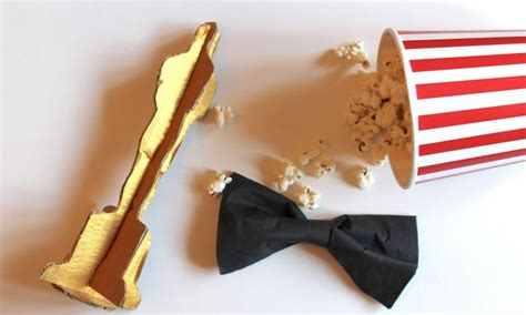 How To Make An Oscar Trophy Out Of Paper - how to make your own oscar kidspot