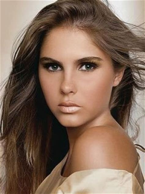 Best Hair Color For Olive Skin And Brown Eyes   LONG