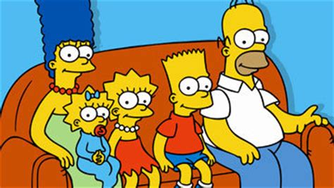 the simpsons sitting on the couch the simpsons english bloggin