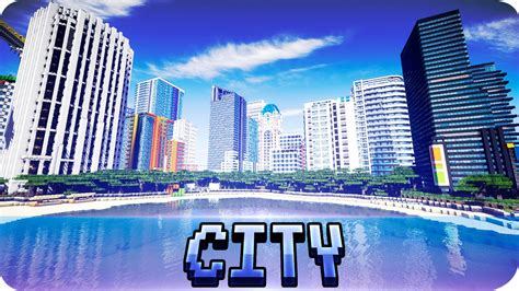 modern city minecraft huge han ul modern city map w download