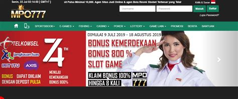 mpo situs game judi deposit pulsa  terpercaya judipulsampocom agen judi poker