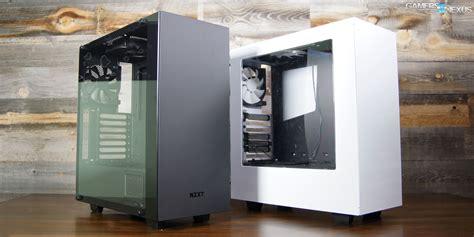 nzxt s340 fans nzxt s340 elite review cable management temperatures