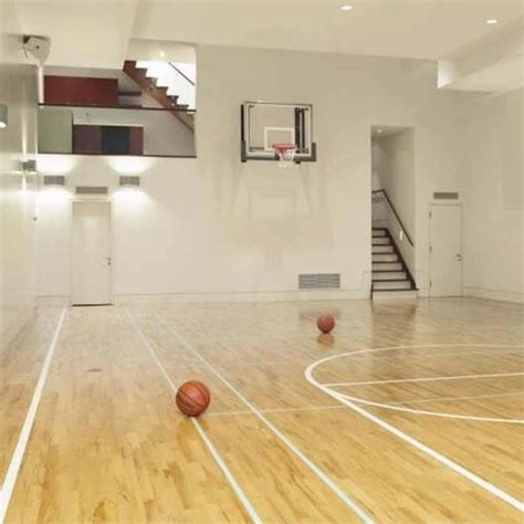 basketball court inside the house how awesome would