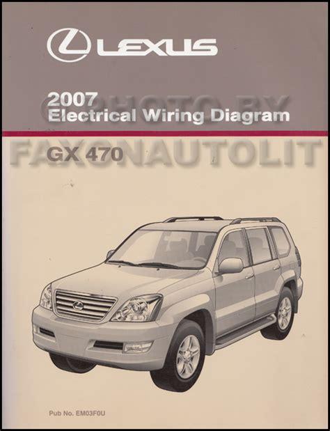 vehicle repair manual 2007 lexus gx user handbook search
