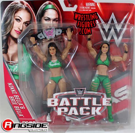 nikki bella toys bella twins nikki brie wwe battle packs 38 wwe toy