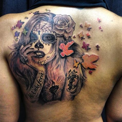 adriana lima tattoo my day of the dead lima suger skull