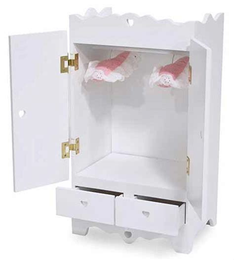 dog armoire furniture american girl doll furniture 18 inch doll clothes