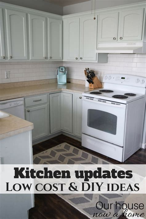 small kitchen project improve a small kitchen with small updates and diy ideas
