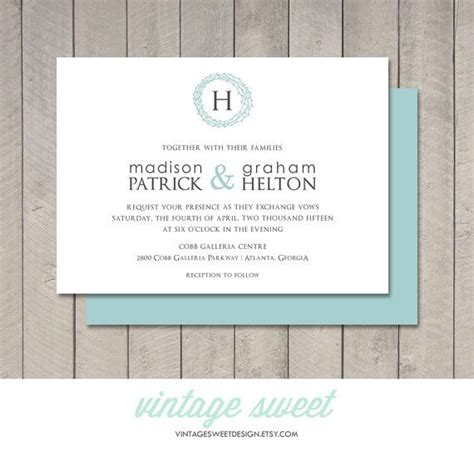modern wedding invitation printable 38 best images about wedding invitations on pinterest