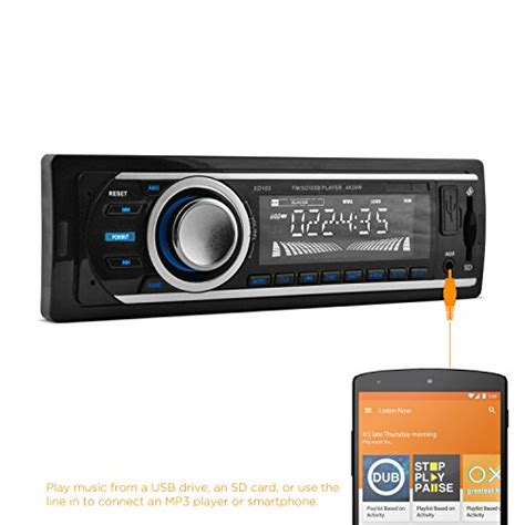 Car Stereo With Usb Port by Xo Vision Xd103 Car Stereo Receiver With 20 Watts X 4 And