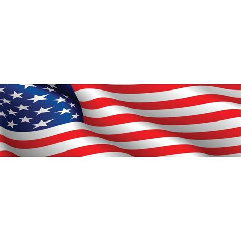 clipart graphics american flag banner clip theveliger