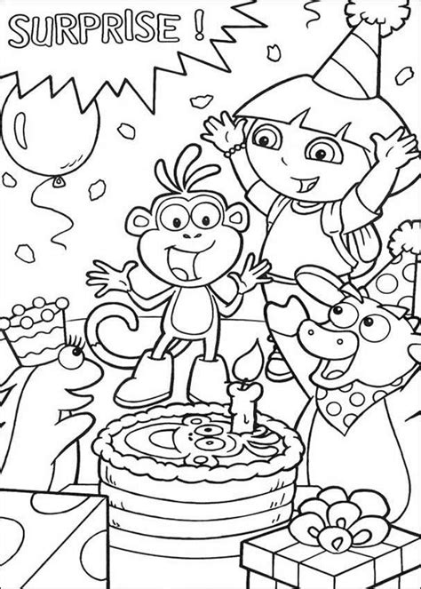 color for happy free printable happy birthday coloring pages for kids