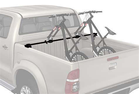 Truck Bed Bike Rack Reviews by Chevrolet Silverado 2500 Yakima Bikerbar Truck Bed Mounted