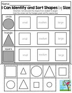 kindergarten shape cutting worksheets cuttings shape and