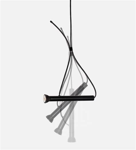 designboom quentin de coster suspended lasso torch light by quentin de coster for cinna