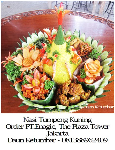 Pancake Durian By Eidellova Mede nasi tumpeng cake ideas and designs