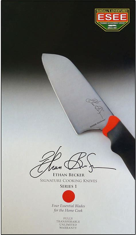 becker kitchen knives 2018 esee ethan becker signature cooking knives series 1 set knifecenter esee cooking knives