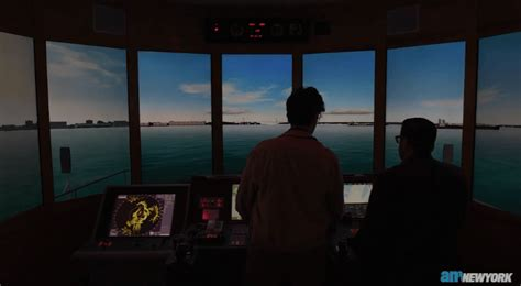 boat simulator software before hitting the harbor nyc ferry captains train with a