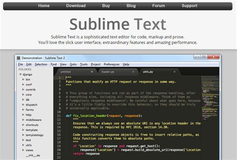 thunderstorm a sublime text theme for web developers 10 best free and premium html editors for web developers