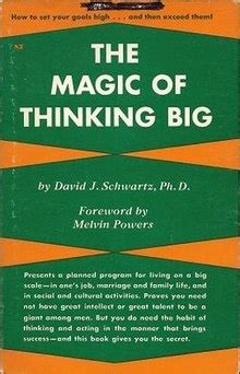 the magic of thinking the magic of thinking big wikipedia