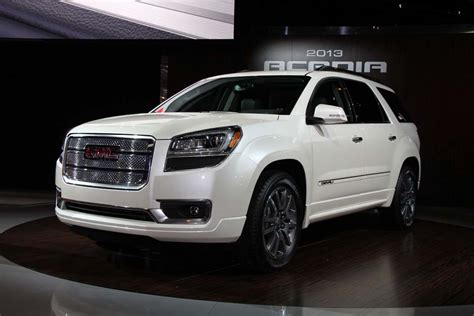 2013 gmc denali look 2013 gmc acadia and acadia denali