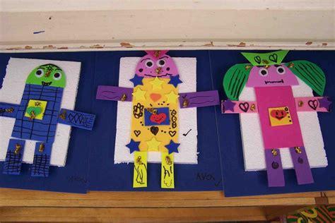 kindergarten craft projects 2d shapes crafts preschool