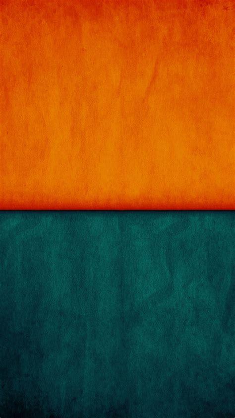 papersco iphone wallpaper vx orange blue pattern