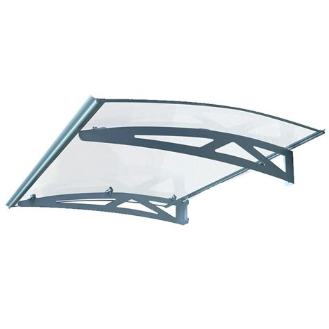 Wood Awning Kit by Door Canopy Kit 46 Quot White Aluminum Awning Window Or
